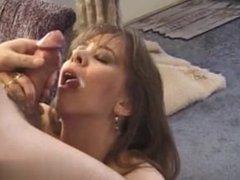 Meet her on MATURE-FUCKS.COM - Amatuer MILF blowjob and slowmo cumshot comp