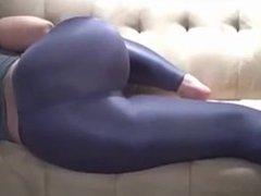 Spandex ass. I found her on DATES25.COM