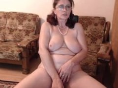 Hot 48 yo russian mature maria play in skype 720CAMS.COM LIVE