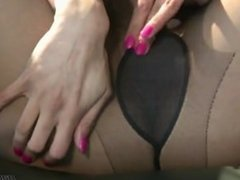Preeti Young - Ripping Her Pantyhose