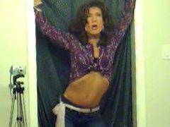 TV/TS Brooke Chambers Smoking 1