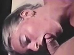 Vintage hairy secretary takes a cumshot in her ear via DATES25.COM