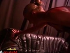 Find her on MATURE-FUCKS.COM - Slave Gets Choked Out And gets A Taste Of Pu