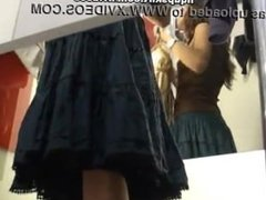 changing room hidden camera underwear girl