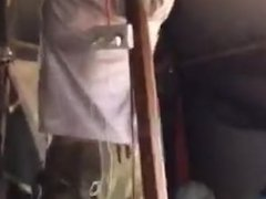 Israeli soldier strip dance in tent