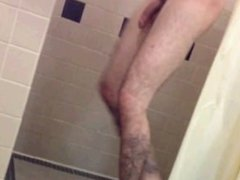 Hung Inked Jock Showers