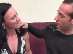 Gianna from DATES25.COM - Horny french milf hard banged and anal plugged
