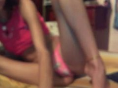 Cute Latina Teen - Masturbating - Webcam HOT Latina