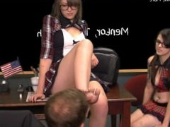 Dirty feet detention