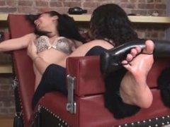 sammie toetied tickling