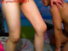 Sexy girls playing on webcam - tightandhorny.com