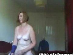MILF rides hard black cock