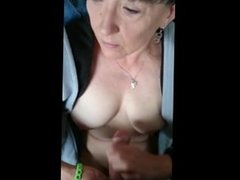 Homemademature cute mom gives hj and cumshot on tits. Tiffany from DATES25.COM