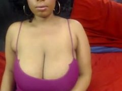 Thembi black model with big boobs. In LIVE on 720cams.com