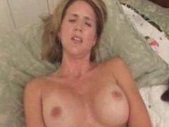 Hot milf fucks big dildo orgasm. Sonja from DATES25.COM