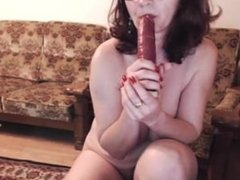 Jamee LIVE on 720CAMS.COM - Hot 48 yo russian mature maria play in skype