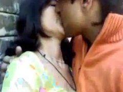 Indian teen gets her perky tits licked and fondled
