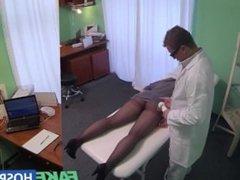 Fakehospital hidden cameras catch female patient using massa. Venetta from DATES25.COM