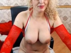 Louetta LIVE on 720CAMS.COM - Mlff blonde in red from romania 20