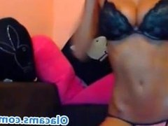 Amateur teen blonde live on webcam