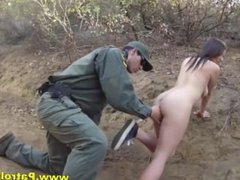 Latina Babe Fucks Officer For Border Pass