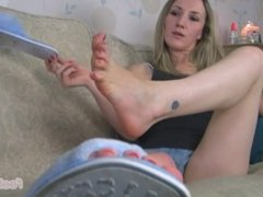 Red toes and Pink soles JOI