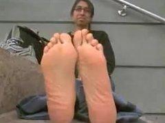 Long Indian Feet