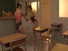 Jap Lesbian Swimsuits