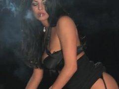 Smoking fetish- sexy smoking domination