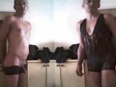 n15 pornhub twins naked striptease Zwillinge nackt stripper 7c8a1 black bod