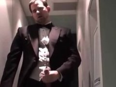 Jerking in a Tuxedo ( Jerk Off & Cum )