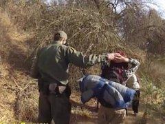 Agent Fucks Redhead Latina Babe As Punishment