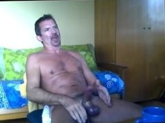 Skype hello to a friend