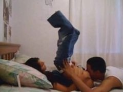 Cute Amateur Couple Having Fun On Bed [Go To PornLeech.com]