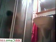 Brunette amateur teen hidden shower spy cam voyeur upskirt 1 - For more Visit 366Cams.com