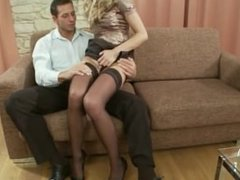 ( www.HDPussy.in ) Fucked in his private office
