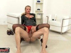 Hot girlfriend anal lecken