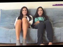 tickling two girls