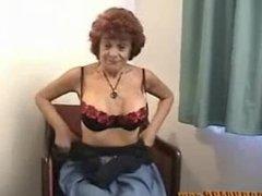 John from DATES25.COM - Redhead granny milf blowjob