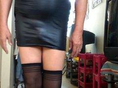 my latex dress