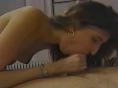 girl gives a blowjob