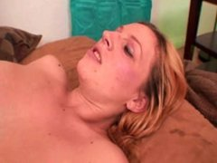 Big dick for horny blonde bitch