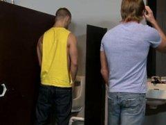 High Performance Men Public Bathroom Dirty Talk Fuck