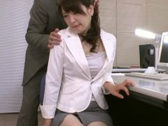 Secretary Gets Face Licked