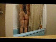 pussy rub compilation bathroom squirt