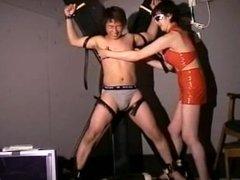 Japanese f/m tickling interrogation