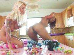 Brooke and Marie Luv CandyLande - Scene 1