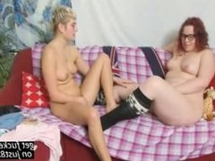 Cumshot Amateur after Filthy Lesbian Allan lesbian
