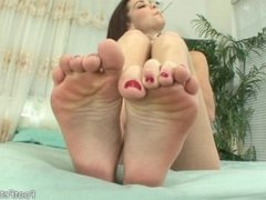 Kiera Winters Smoking Feet
