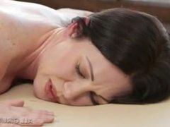 Lesbian Threesome Massage